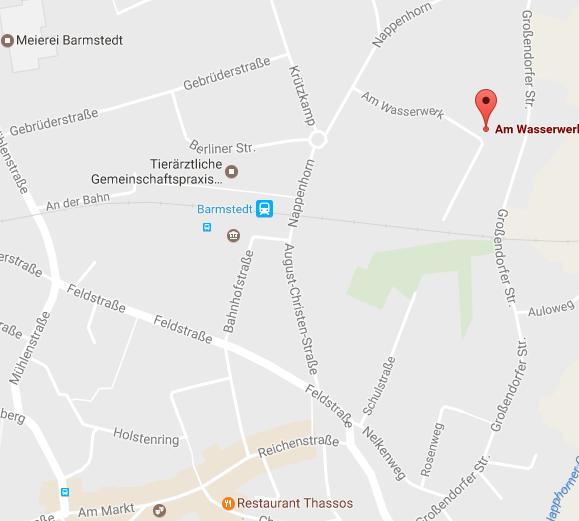 Steuerbüro Haarfeldt, neue Anschrift am Wasserwerk 27, 25355 Barmstedt